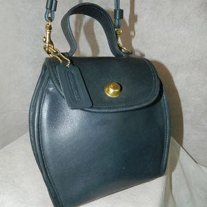 "COACH Vintage ""Derby Bag"" #1002-254 (#9904) Navy!"